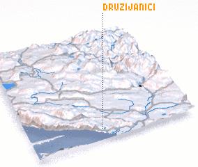 3d view of Družijanići