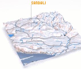 3d view of Sandali