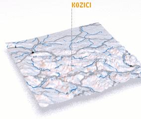 3d view of Kozići