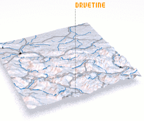 3d view of Drvetine