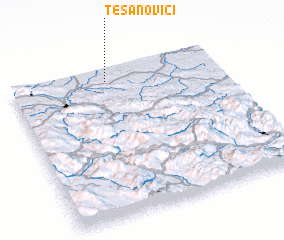 3d view of Tesanovići