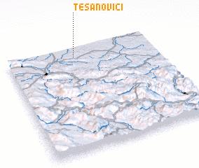 3d view of Tesanovići