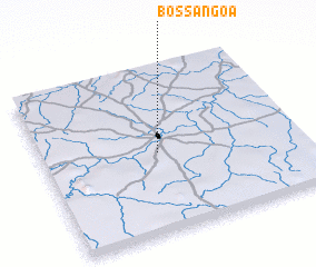 Bossangoa Central African Republic map nonanet