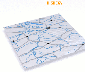 3d view of Kishegy