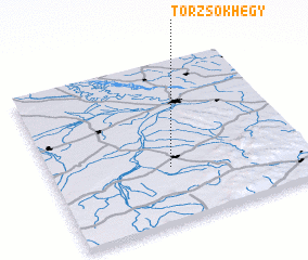 3d view of Törzsökhegy