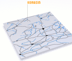 3d view of Komasin