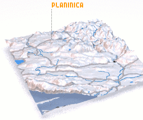 3d view of Planinica