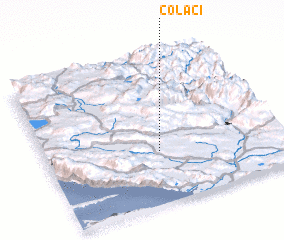 3d view of Čolaci