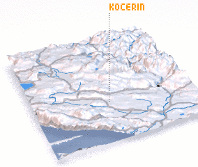 3d view of Kočerin