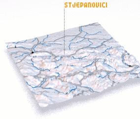 3d view of Stjepanovići