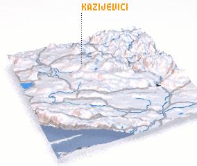 3d view of Kazijevići