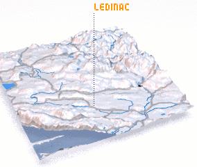 3d view of Ledinac