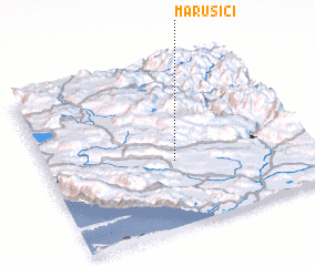 3d view of Marušići