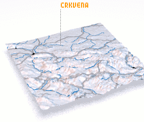 3d view of Crkvena