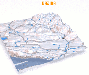 3d view of Bazina