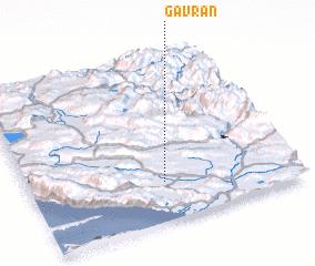 3d view of Gavran