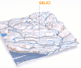 3d view of Galići