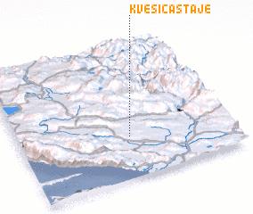3d view of Kvesića Staje