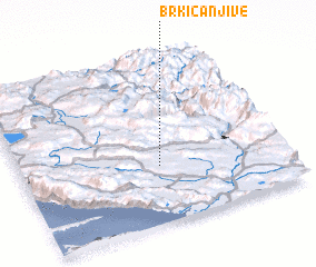 3d view of Brkića Njive