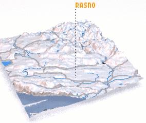3d view of Rasno