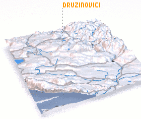 3d view of Družinovići