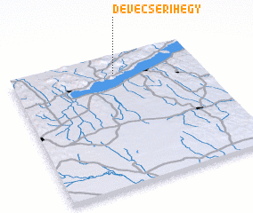 3d view of Devecserihegy
