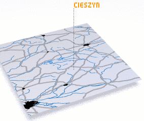3d view of Cieszyn
