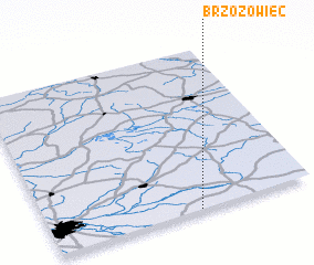 3d view of Brzozowiec