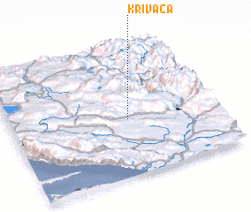 3d view of Krivača