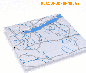 3d view of Belsőábrahámhegy