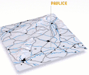 3d view of Pavlice