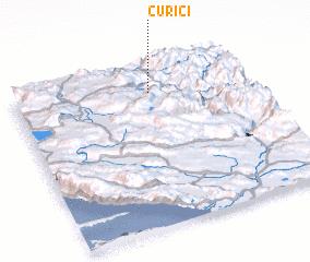 3d view of Čurići