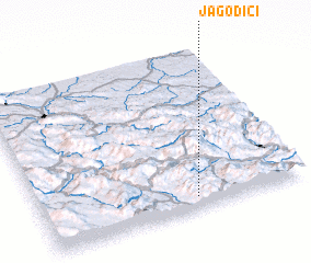 3d view of Jagodići