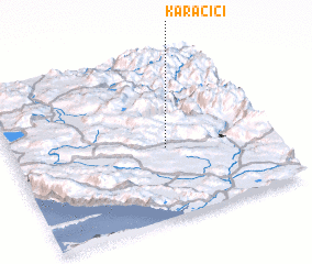 3d view of Karačići