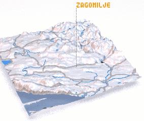 3d view of Zagomilje