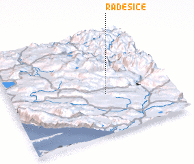 3d view of Radešice