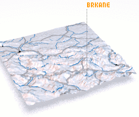 3d view of Brkane