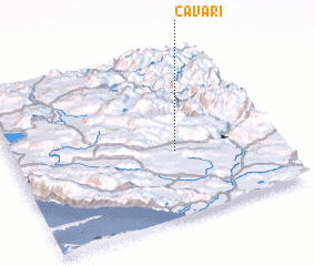 3d view of Čavari