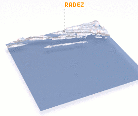 3d view of Radež
