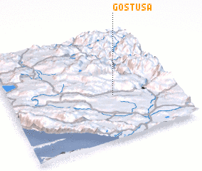 3d view of Gostuša