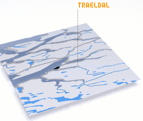 3d view of Trældal
