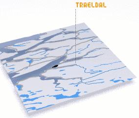 3d view of Trældal