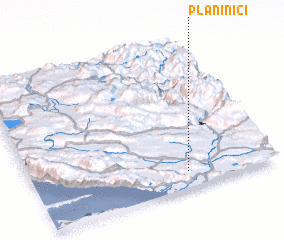 3d view of Planinići