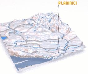3d view of Planinići