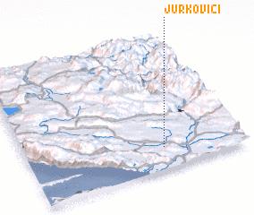 3d view of Jurkovići