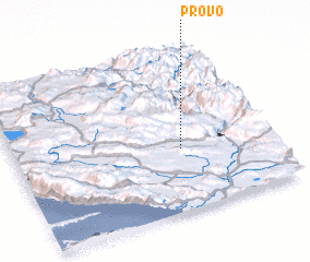 3d view of Provo