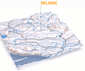 3d view of Orlovac