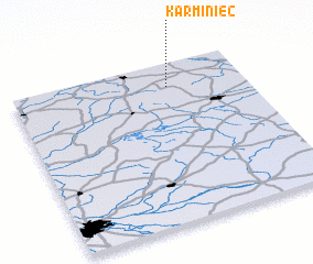 3d view of Karminiec
