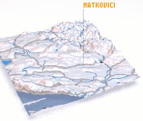 3d view of Matkovići