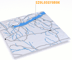 3d view of Szőlősgyörök